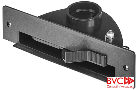 VACPAN - Podlahová štěrbina černá