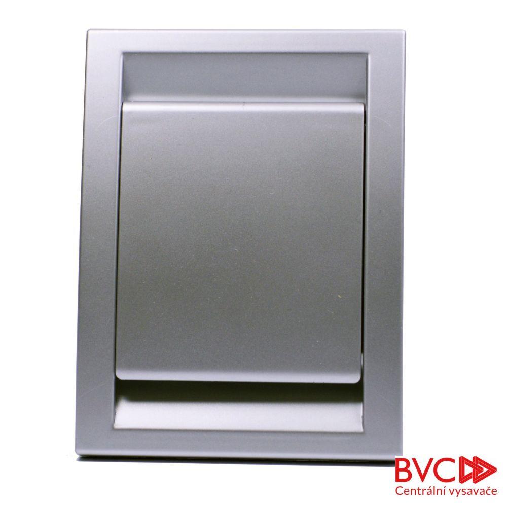 Zásuvka nástěnná ADAVADAC stříbrná