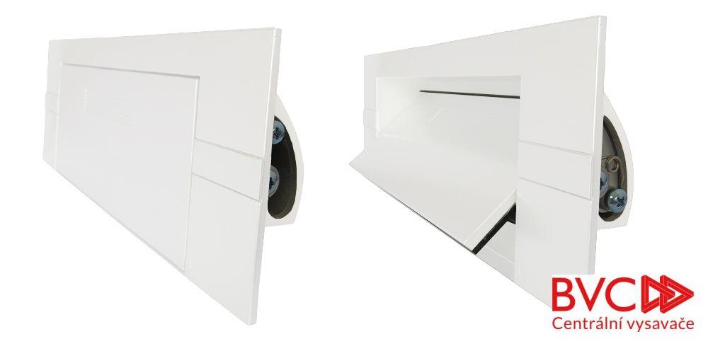 KITVAC - Podlahová štěrbina bílá