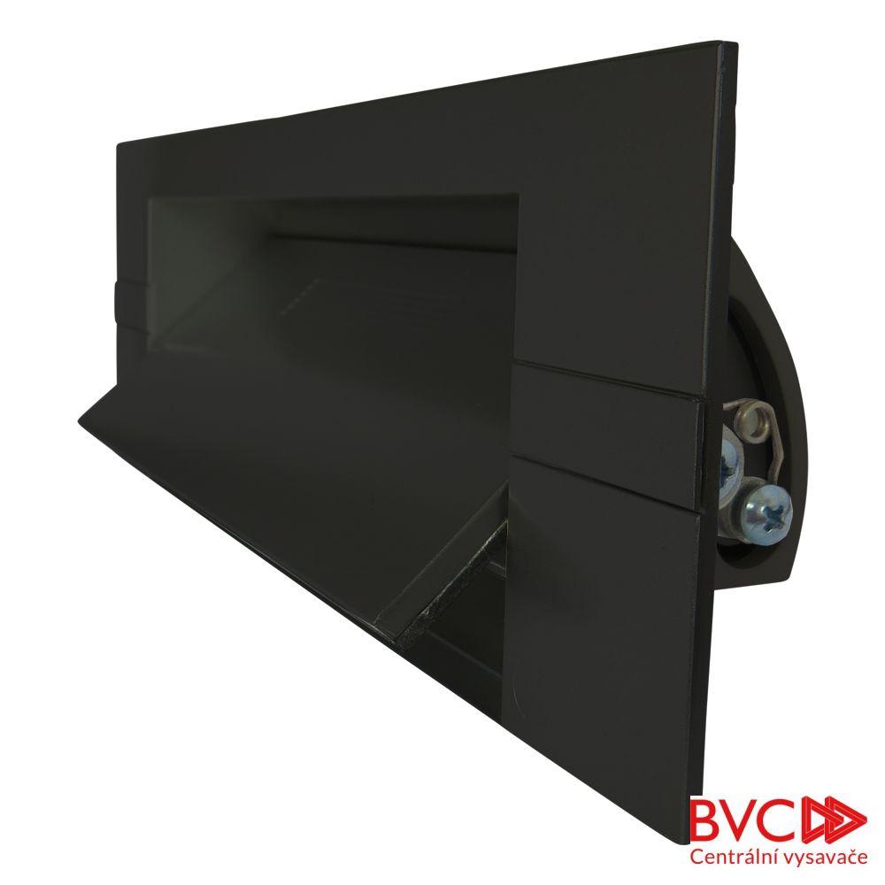 KITVAC - Podlahová štěrbina černá